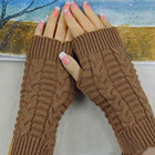 Knitted Arm Gloves F...