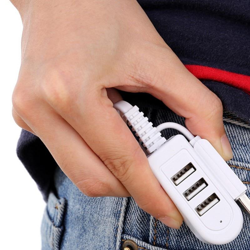 USB Hub High Speed USB3.0 Splitter Hub One Split To Three High-speed Extended USB Electronic Product For Laptop Desktop