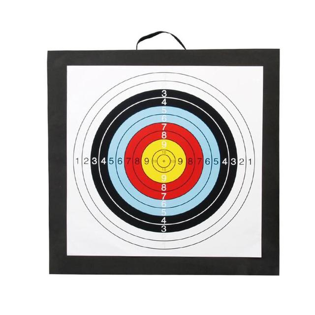 1Pcs 50*50*5cm Archery Target High Density EVA Foam Shooting Practice Board Indoor and Outdoor Sports Hunting Accessories 1