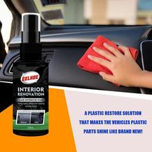 30ml Plastic Refurbishment Agent For Automotive Plastic Parts Refurbishment Paint Paste Maintenance Paint Care Wax Agent Cleaner