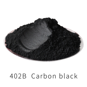 Pearl Powder Coating Mineral Mica Dust DIY Dye Colorant 50g Black Type 402B for Soap Eye Shadow Cars Crafts Acrylic Paint Pigmen(China)