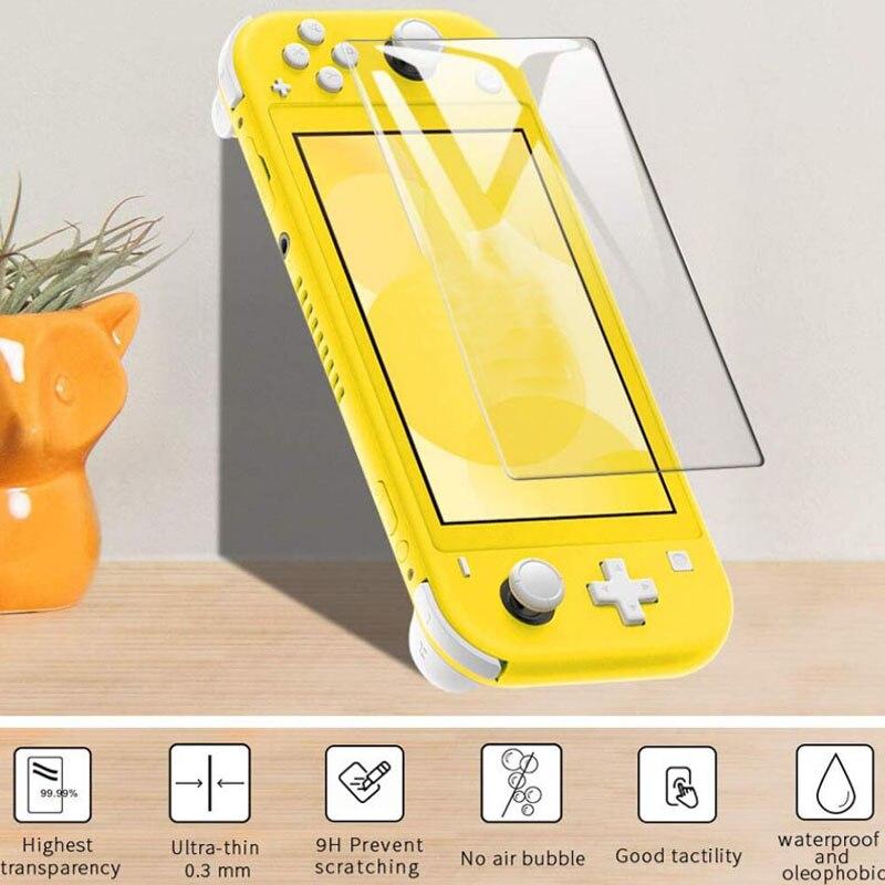 Защитная пленка из закаленного стекла для Nintendo Switch Lite Mini NX Защитная пленка для экрана HD для Nintendo Switch Lite аксессуары