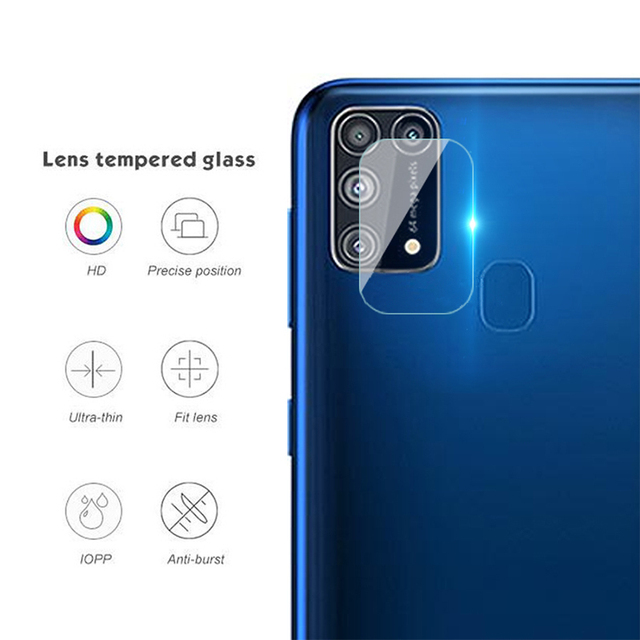 2 in 1 camera lens protective glass for samsung galaxy m31 m30 s m51 m21 m11 m12  screen tempered glass for samsung m30 m31 m21s 5