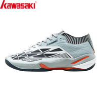Kawasaki Badminton Shoes for Men Professional Indoor Court Sports Sneakers Anti Slippery Hard Wearing Master Series K 527