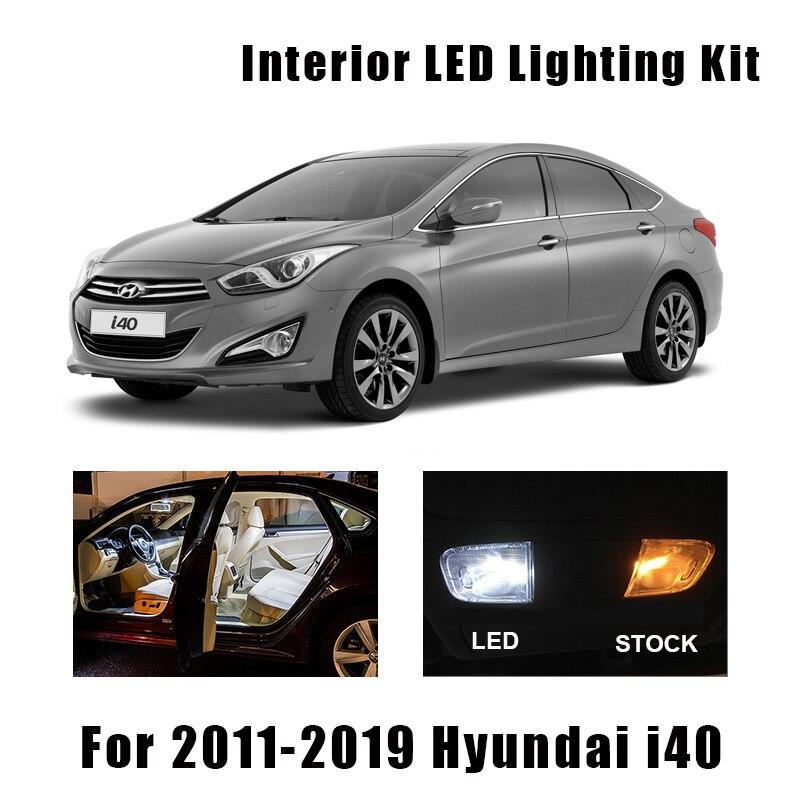 16 шт., автомобильные аксессуары для Hyundai i40 2011-2019