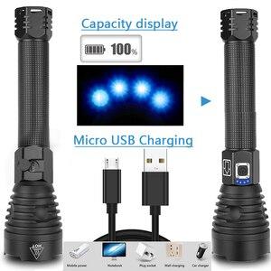 10000LM LED Flashlight XHP90.2