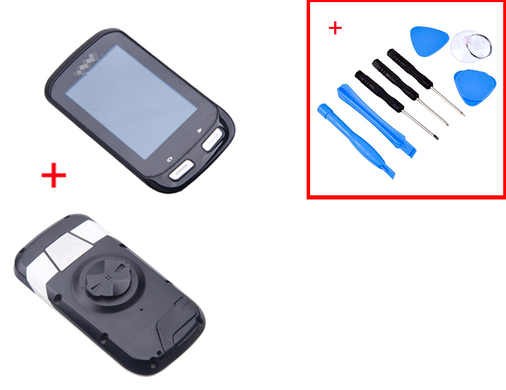 For <font><b>Garmin</b></font> <font><b>Edge</b></font> <font><b>1000</b></font> <font><b>LCD</b></font> <font><b>Screen</b></font> Touch Digitizer and Back Case Repair Kit used image