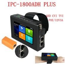 Venta directa de fábrica, el mejor precio IPC-1800ADH más de 4K analógico CVI TVI AHD Cámara RJ45 TDR cable cctv tester
