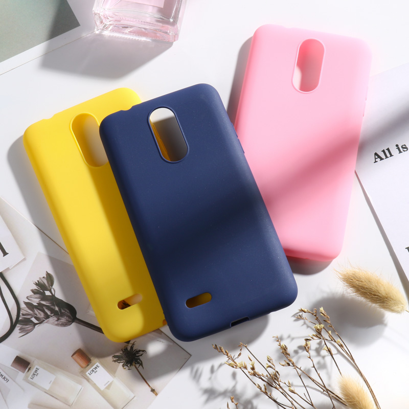 I VIKKLY Heavy Duty Hybrid Dual Layer Shockproof Protective Case Drop Protection Purple LG Aristo//LG Phoenix 3 //LG K8 2017//LG Risio 2 //LG K4 2017 Case with Nano Soft Skin Screen Protector