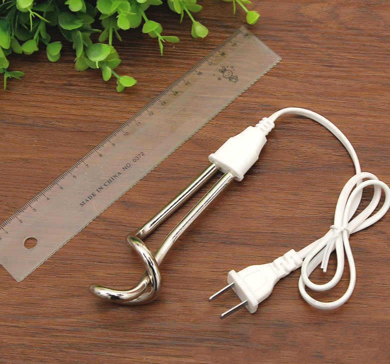 500W 220V Electric Water Heater Element Mini Boiler Hot Water Coffee Immersion Travel Use New