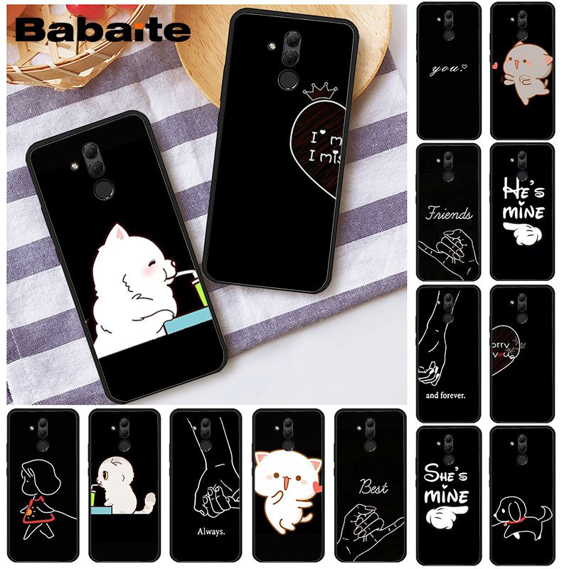 Чехол для телефона Babaite Bff Best Friends для Huawei Mate 10 20 Lite 20X Mate20 10 Pro Mate9 Nova3 3i