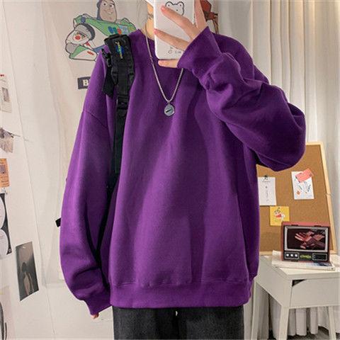 loose Korean style plus size sweatshirt winter clothes streetwear women 2020 new fashion plus velvet oversize harajuku hoodie 7