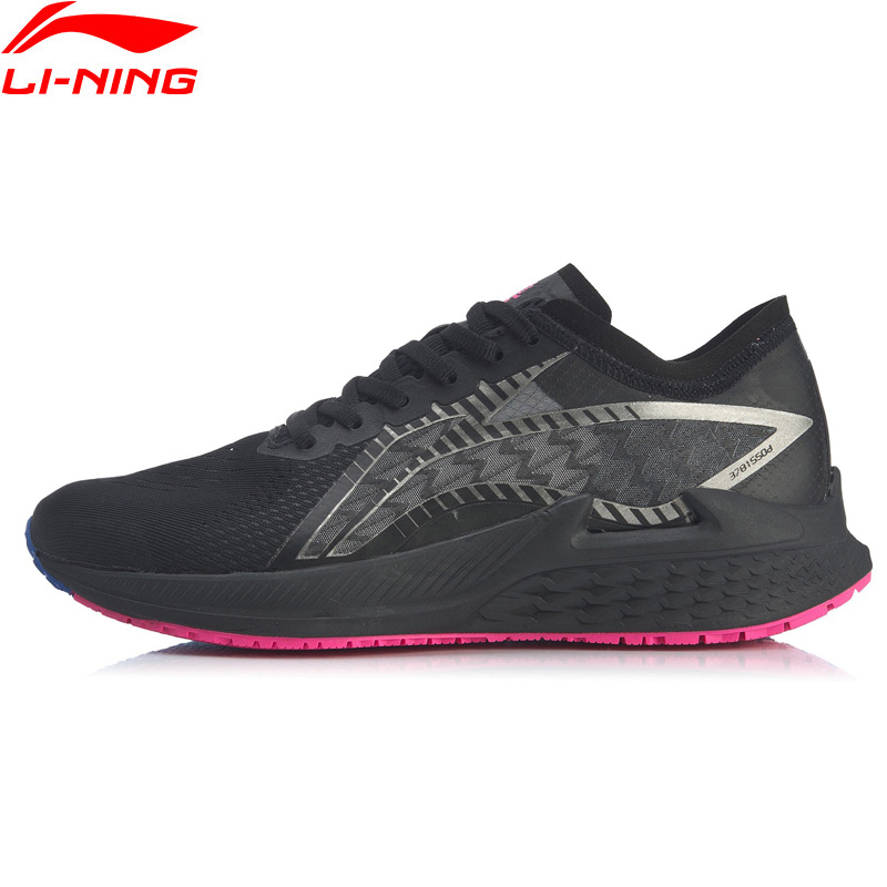 Li-Ning Women LONG TRAINING SHOES Light Running Shoes LIGHT FOAM Cushion LiNing Sport Shoes li ning Sneakers ARBQ008