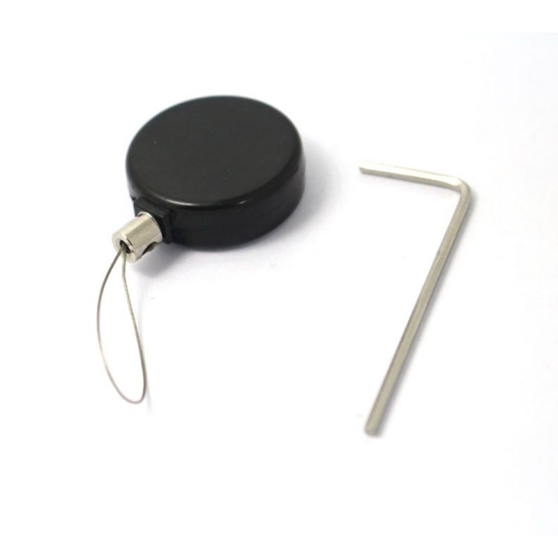Jewelry Phone Watch Anti-Theft Retractable Pull Wire Lock Box Security Slot