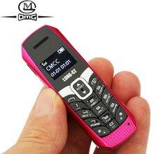 Pequeno mini telefones celulares bluetooth dialer novo desbloqueado barato telefone celular gsm botão telefone t3