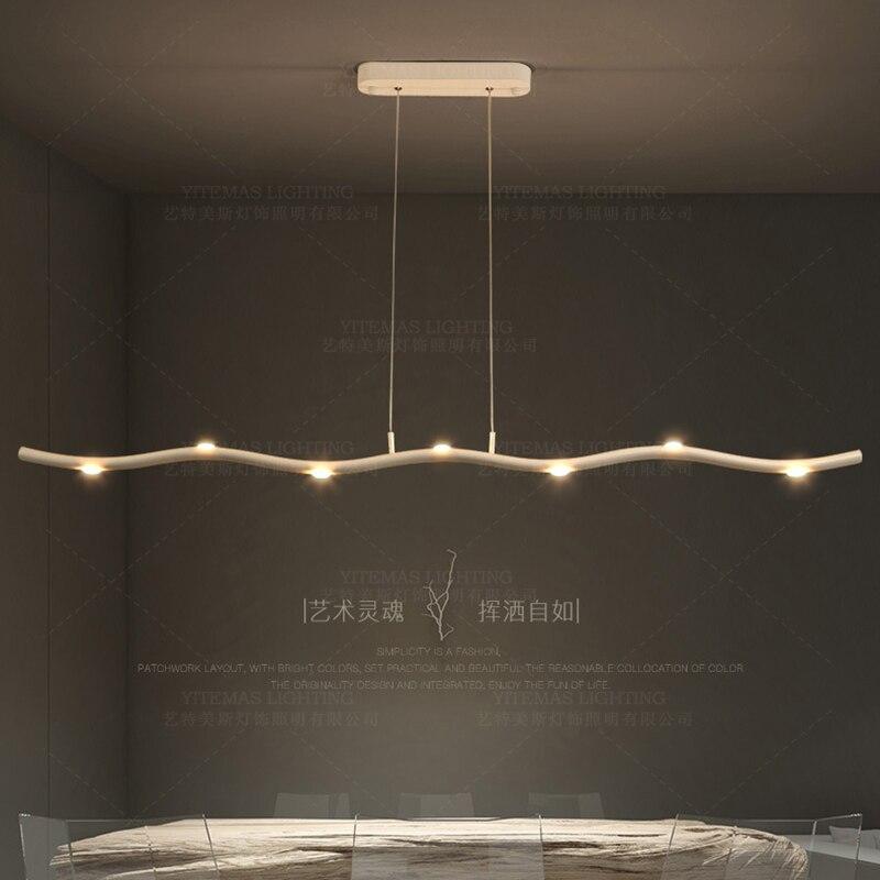 Современный светодиодный подвесной светильник, подвесной светильник в чердаке, светильник, белый светильник, скандинавские ветви