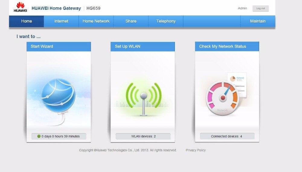 New In Box Huawei HG659 VDSL2//Giga WAN//LAN 11ac 1300Mbps VOIP
