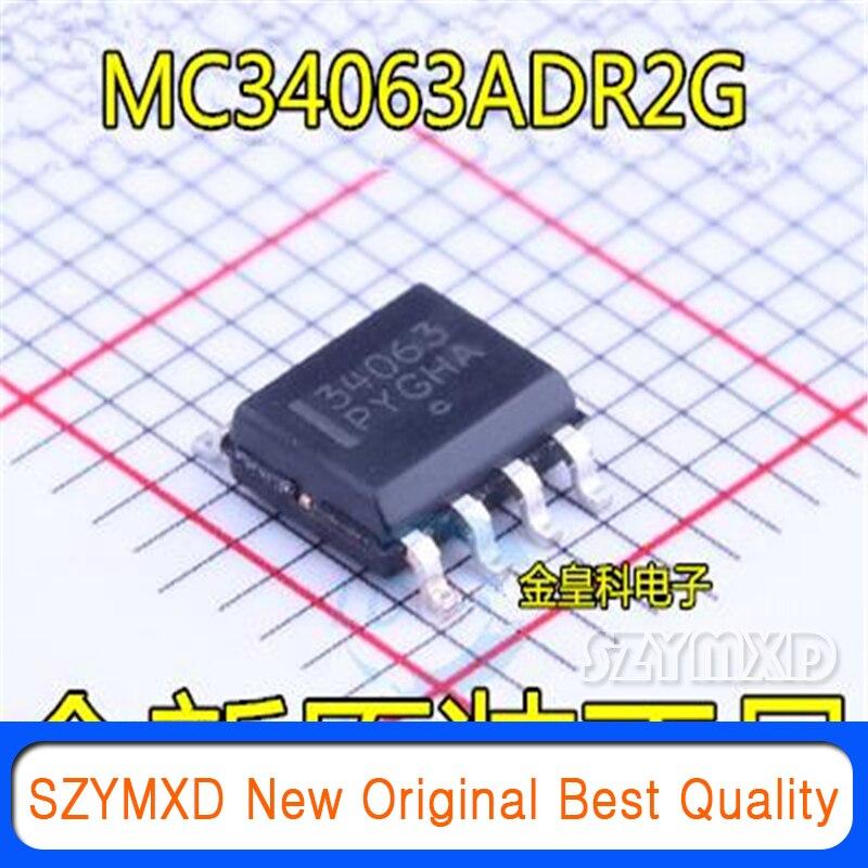 10 шт./лот Новинка оригинальная MC34063ADR2G 34063 SOP8 патч DC/DC преобразователь управления в наличии