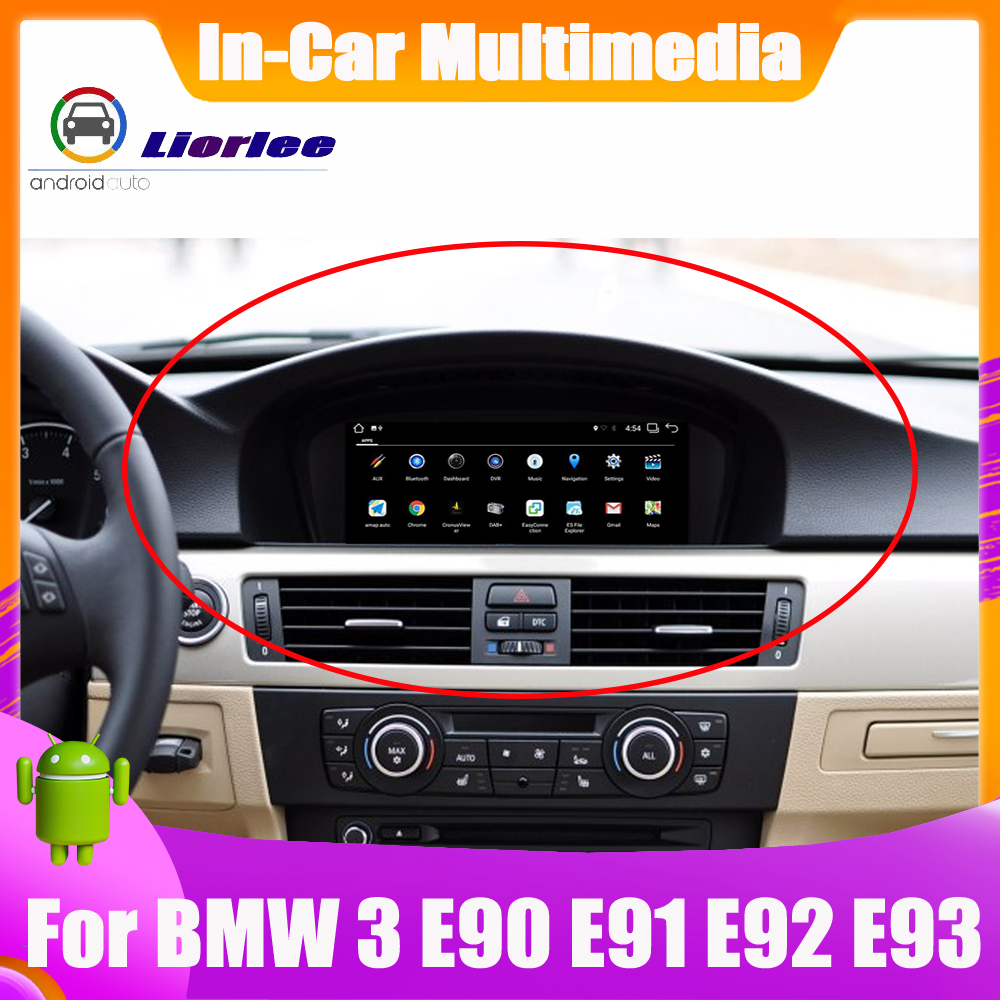 6-Core Android System Update Car GPS For BMW 3 Series E90 E91 E92 E93 2003~2008 Autoradio Navigation Car Multimedia image