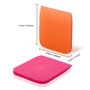 Image 5 - FOSHIO Soft Car Wrap tergipavimento TPU PPF pellicola protettiva installa raschietto finestra tinta fibra di carbonio vinile strumento di avvolgimento pulizia automatica