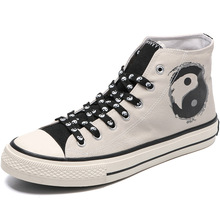 2020 Fashion Canvas Shoes Men High top Sneakers Breathable M