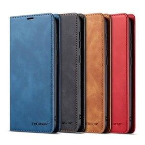 Image 5 - 電話ケース A10 A20 A30 A40 A50 A60 2019 高級磁気フリップ革カバー財布 GalaxyA50 GalaxyA10 を 20 30