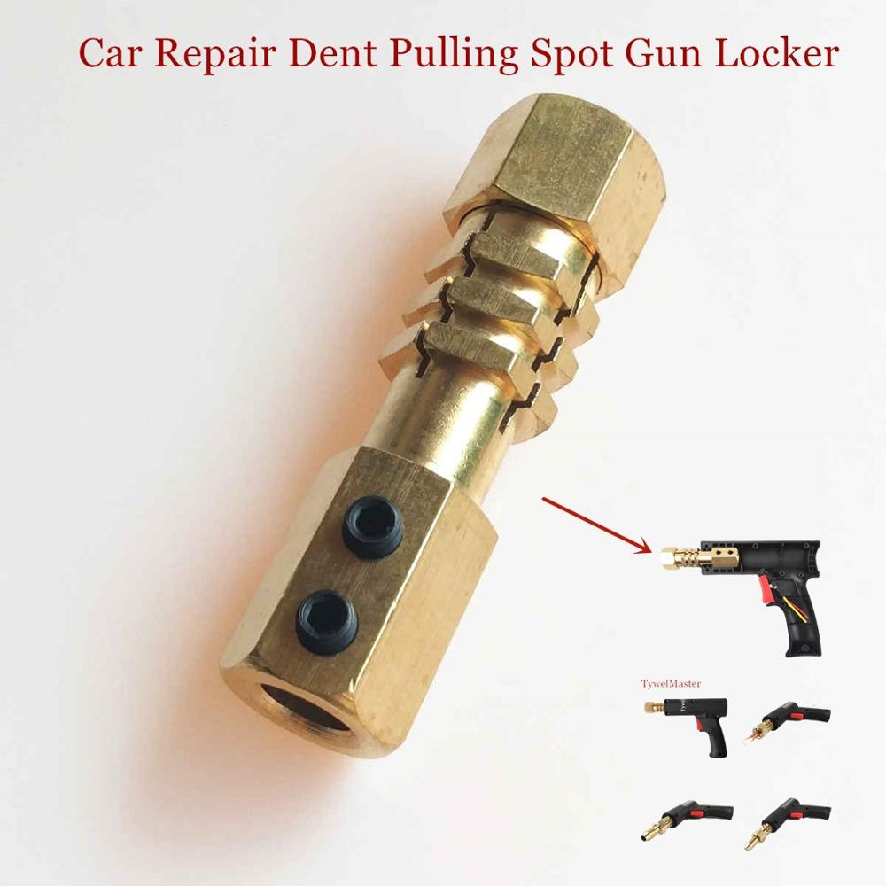 Dent Pulling Gun Lock Head Car Body Repair Spot Welding Torch Tighten Holder Garage Metal Work Spot Welding Electrode Holder