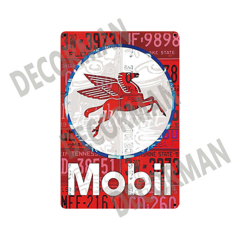 [WellCraft] Texaco STP Mopar BP Mobil Motor öl Zinn Zeichen Poster Vintage Metall Malerei Benutzerdefinierte Club Decor LTA-1705