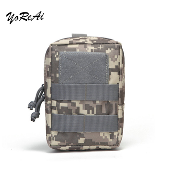 Tactical Bag Outdoor Camping Bags Molle Kidney Waist Belt Wallet Pouch Purse Phone Case Climbing Military Bag Pouches Men Travel men tactical molle pouch belt waist pack bag small pocket military waist pack phone pouches outdoor running travel camping bags