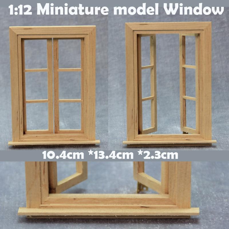 1:12  Miniature Model  Window  DIY Building Model Materials  Construction Sand Table Model Accessories