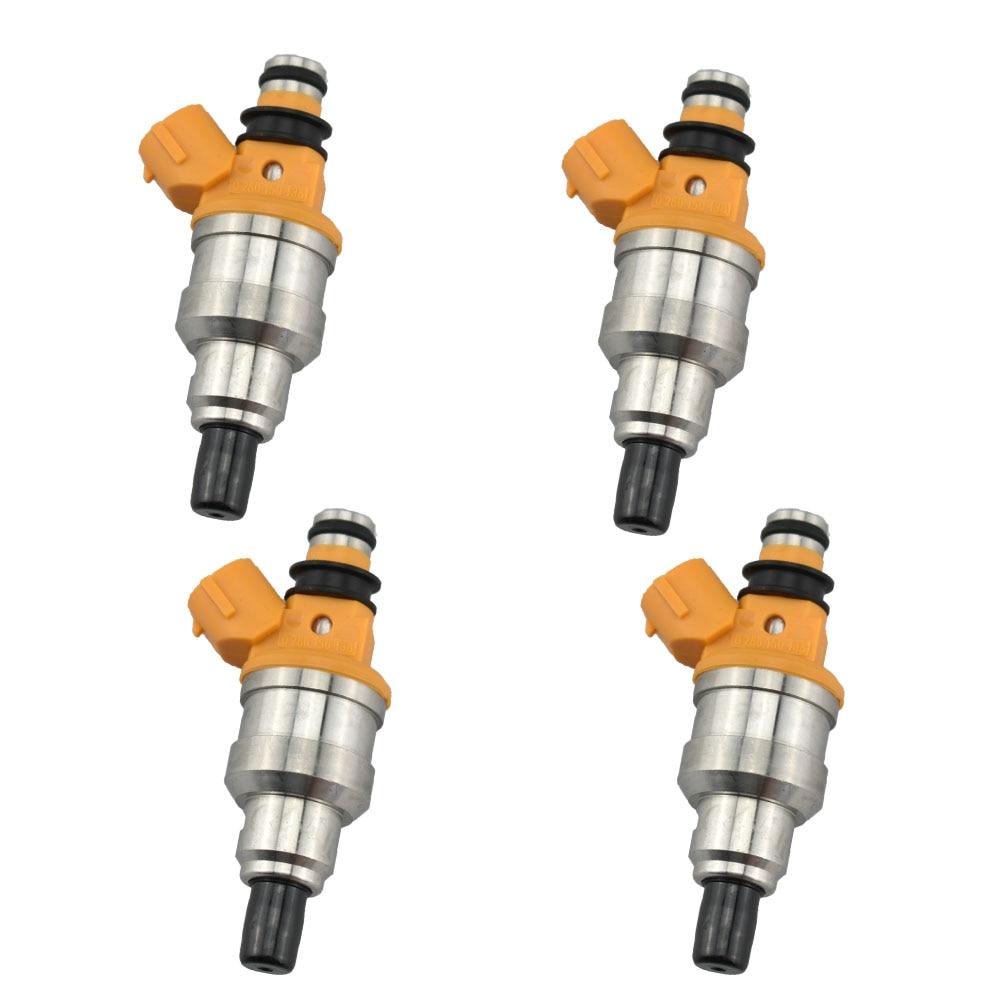 4 יח'\חבילה דלק מזרק 23250-02020 2325002020 עבור t-oyota Carina 92-97 AT190 Avensis 97-00 AT220 4AFE