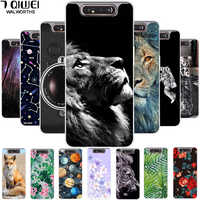 Funda de teléfono para Samsung galaxy A80 funda A80 2019 funda de silicona suave TPU Capa para Samsung galaxy A80 A 80 funda bonita para galaxy a80