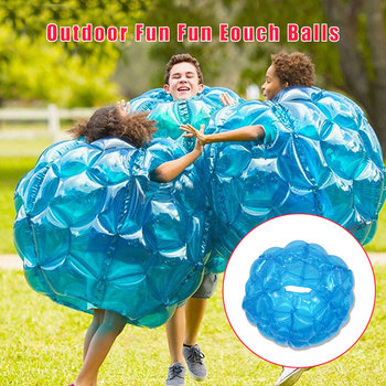 2PCS Zorb Ball Outdoor Fun Fun Eouch Balls with Air Pump PVC Inflatable Bubble Soccer Family Outdoor Game Sports Toy