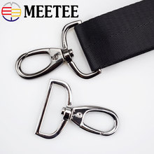 4pc Meetee 32/38mm Bags Strap Buckles Lobster Swivel Trigger Clips Clasp Snap Hook for Hangbag Hanging Leather Accessories Craft