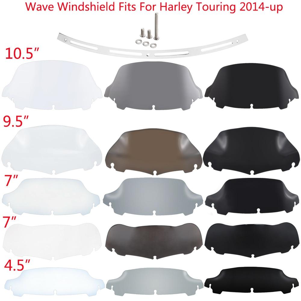 """4/"""" Windshield Windscreen Fits Harley Electra  FLHX"""