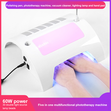 Nail Equipment Nails Multi-purpose Manicure Set 5-in-1 Polisher Vacuum Cleaner Baking Lamp Nail Supplies For Professionals TSLM