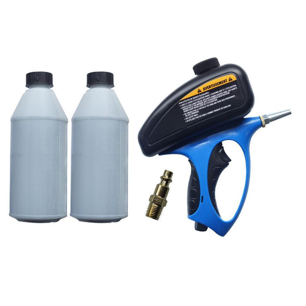 SOLLED Anti-rust Sandblaster Air Compressed Glass Tombstone Sandblasting Machine With Small Nozzle