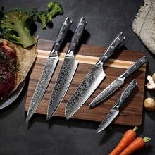 Chef Knife Damascus Knife Sande Dao meat cleaver Universal knife Fruit knife knife set knife sharpener knife kitchen knives set недорого