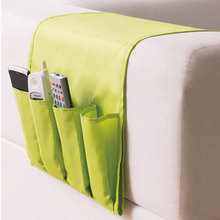 Sofa Arm Rest TV Remote Control Organizer Holder Chair Couch Mobile Phones Magazine Storage Bag (a gift, please Remark)
