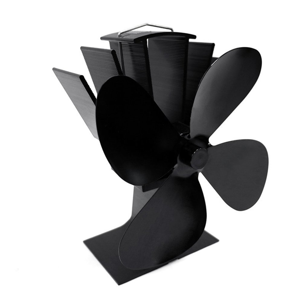 Exquisite Motor Recyclable Environmentally Friendly Material Power Double-head Fireplace Fan Fireplace Thermometer
