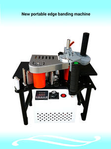 Machines Edge-Banding Wood Cut Manual 110V 220V Adjust-Speed Straight-Curve Double-Sided