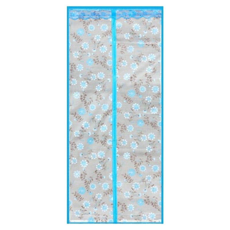 Кондиционер для комнаты/кухни магнитный экран для двери магнитный теплоизолированный сетчатый экран занавес двери