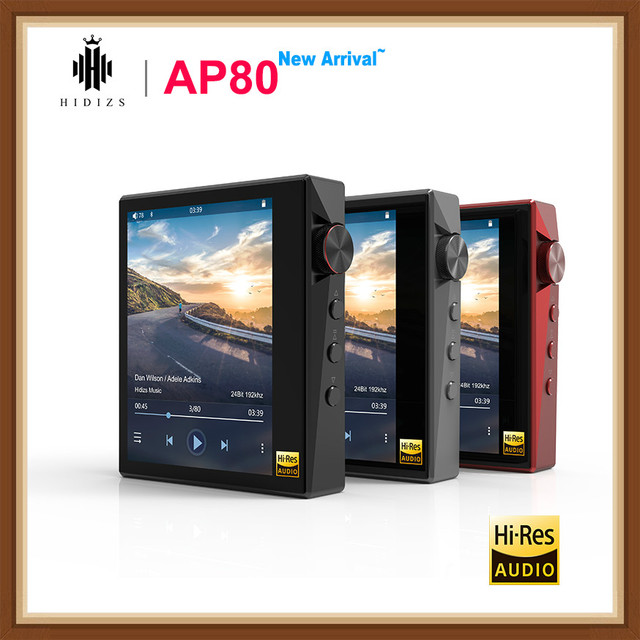 Hidizs AP80 Hi Res ES9218P Bluetooth HIFI Music MP3 Player LDAC USB DAC DSD 64/128 FM Radio HibyLink FALC DAP
