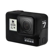 Caméra d'action originale GoPro HERO 7 noire 4K 60fps 1080P 240fps vidéo Go Pro Sports Hero7 noir casque Cam avec Streaming en direct