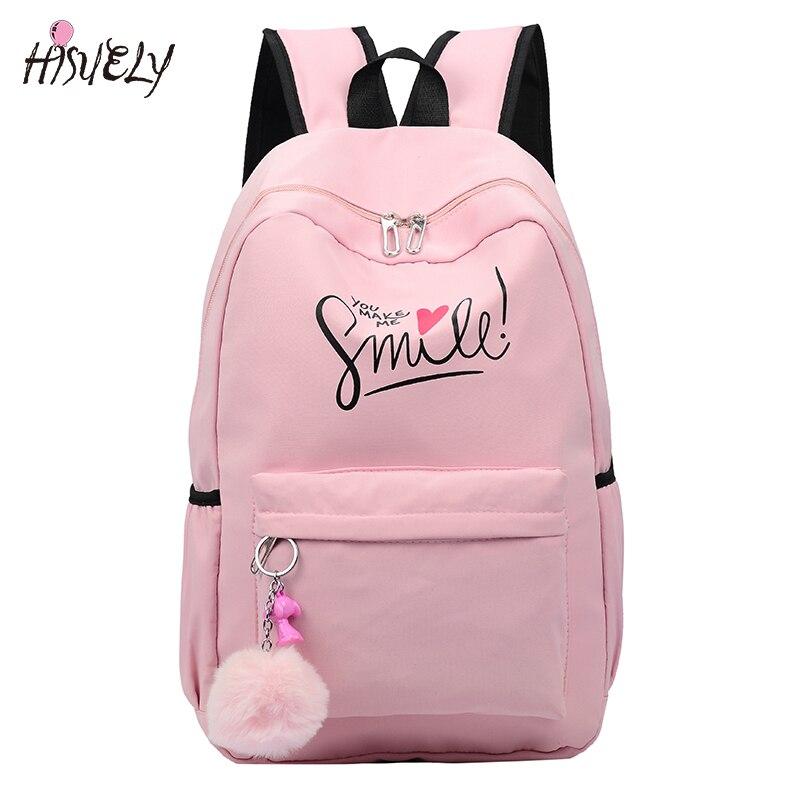 2020 tiki tarzı moda karikatür kadın okul çantası seyahat sırt çantası kızlar için genç şık laptop çantası sırt çantası kız schoolbag