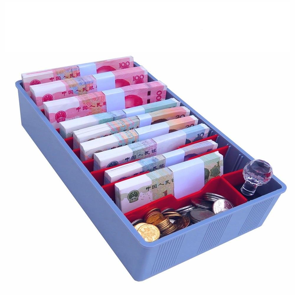 Cashier Box Five Compartments Change Cashier Box Drawer Vertical Box Supermarket Cashier Box Collection Box Cash Box