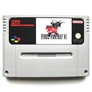 FF VI 16bit cartuccia di gioco Versione di UE per pal console