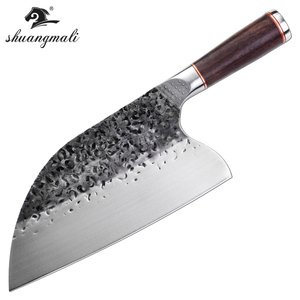 Image 5 - Butcher Knife stainless 5CR15MOV Steel  Chop  Chinese Cleaver  Kitchen Knife Chef Cooking Tools with Wooden handle