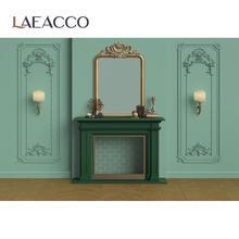 Laeacco مصباح جداري أنيق على الطراز العتيق ، مستوحى من الموقد ، وخلفية للتصوير الفوتوغرافي واستوديو الصور