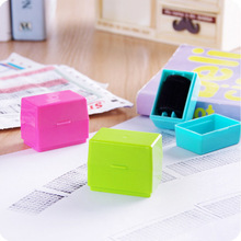 1PCS Identity Theft Protection Privacy Security Stamp Hide ID Protect Roller Guard